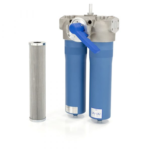 11. DFN Low Pressure Duplex Filter Assembly