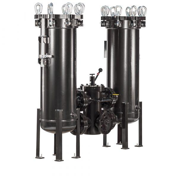 12. DLF(M) Low Pressure High Flow Duplex Filter Assembly
