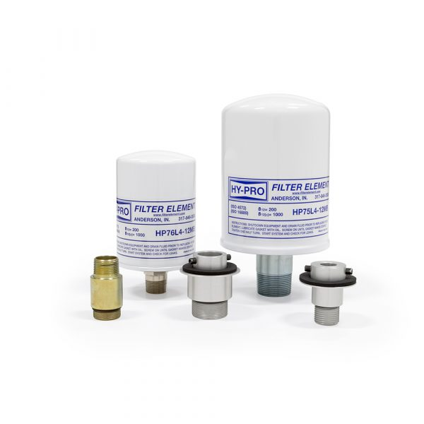 56. Spin-On Breathers G8 Dualglass Particulate Breathers+Adapters